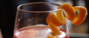 Infusión con cáscara de mandarina