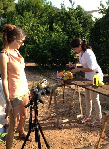Making of productos La Familia Serra