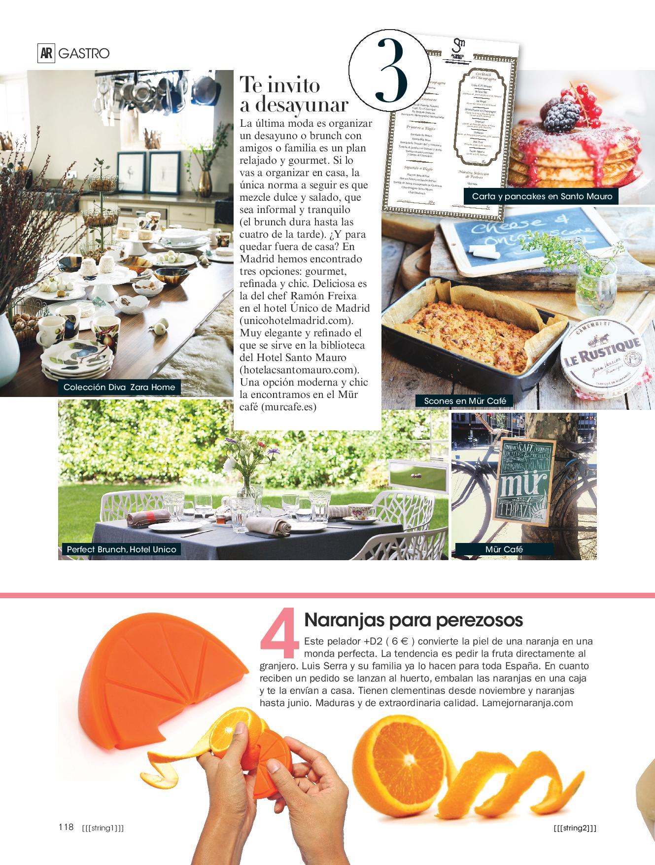 LaMejorNaranja en la revista de Ana Rosa