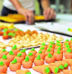 Dulces típicos del Día de 'Sant Dionís' - Naranjas y zanahorias