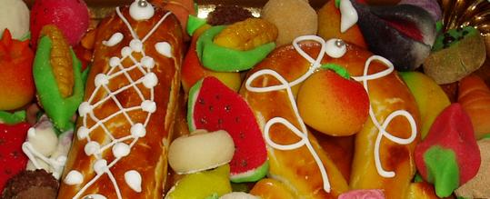 Dulces típicos del Día de 'Sant Dionís'