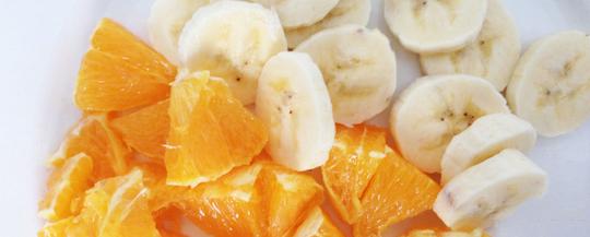 Batido de naranja y plátano - Receta