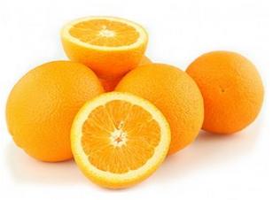 Naranjas para decorar la mesa