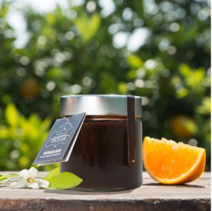 Confitura Gourmet con Chocolate y Naranja Familia Serra