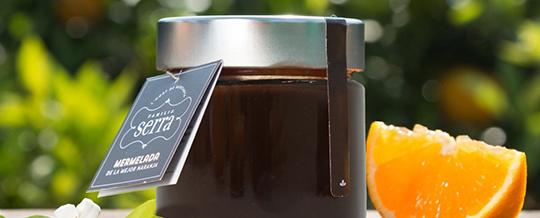 confitura de chocolate y naranja productos gourmet Familia Serra