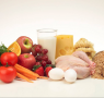 Comida equilibrada y variada para una dieta sana.